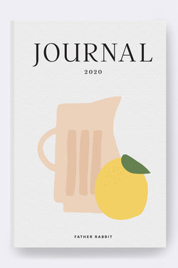 Lemon Weekly 2020 Diary
