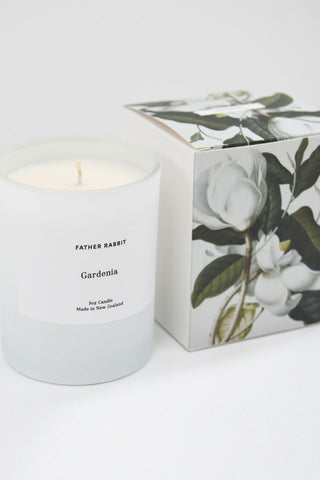 Gardenia Soy Scented Candle