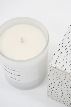 Washed Cotton Scented Candle
