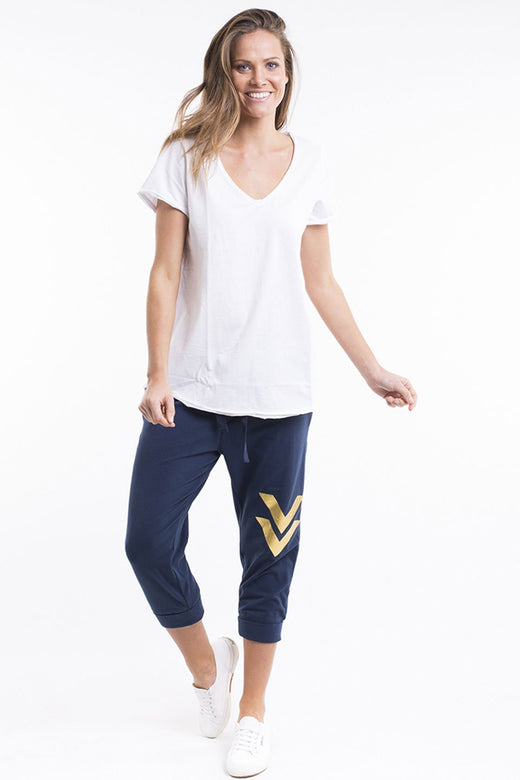 Fundamental V Tee White