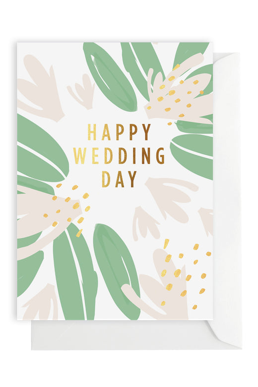 Wedding Flower Greeting Card