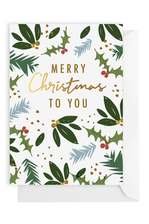 Presents Christmas Greeting Card