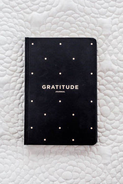 Gratitude Black Journal