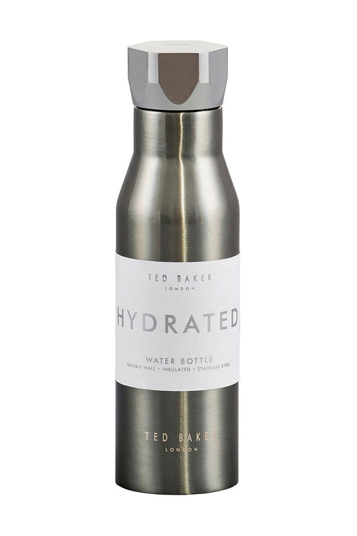 Gunmetal Hexagonal Lid Water Bottle