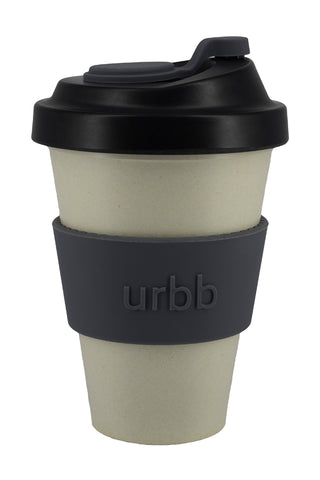Reuseable Bamboo Natural Black Cup