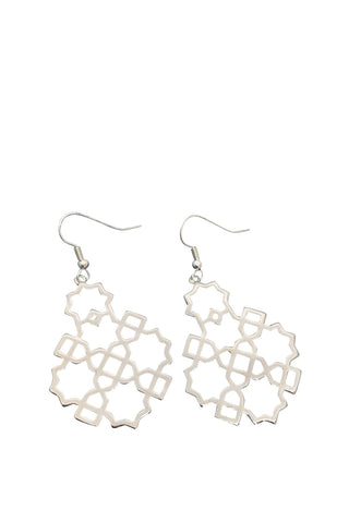 Hook Snowflake Earrings