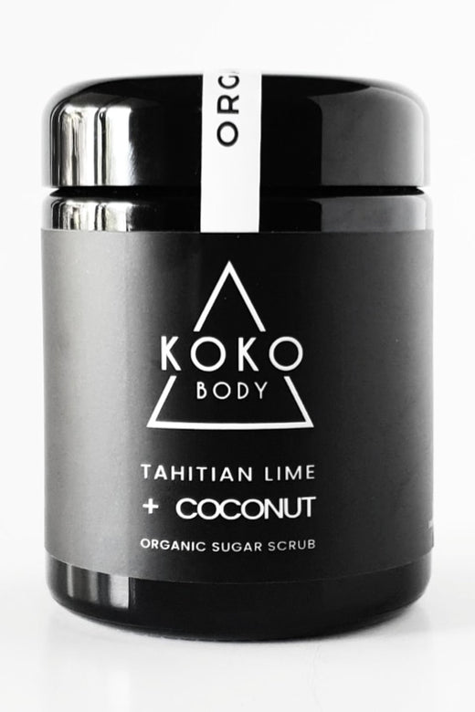Tahitian Lime + Coconut Body Scrub 250g