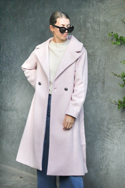 Coated In Love Pink Coat