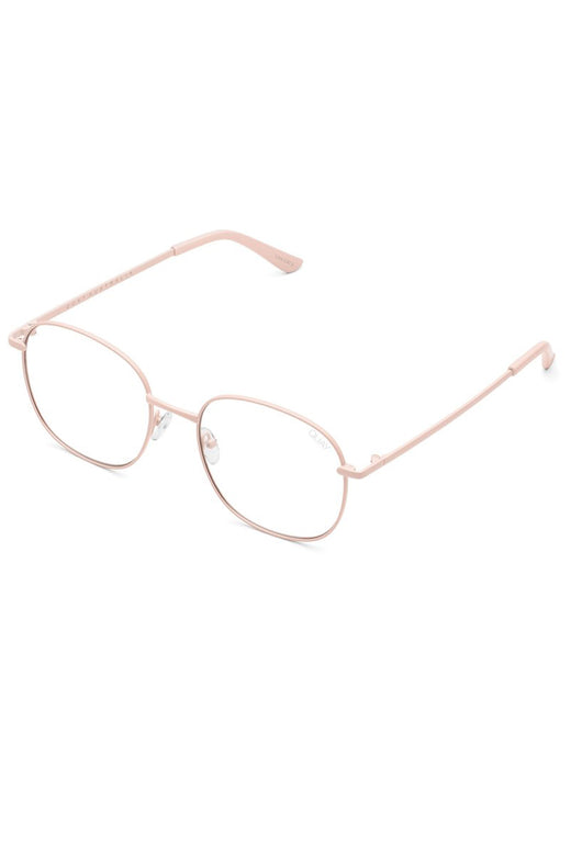 Jezabell Pink Clear Blue Light Lens Glasses