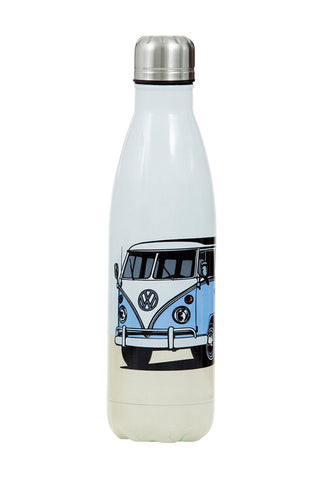 Kombi White Metal Drink Bottle 500ml