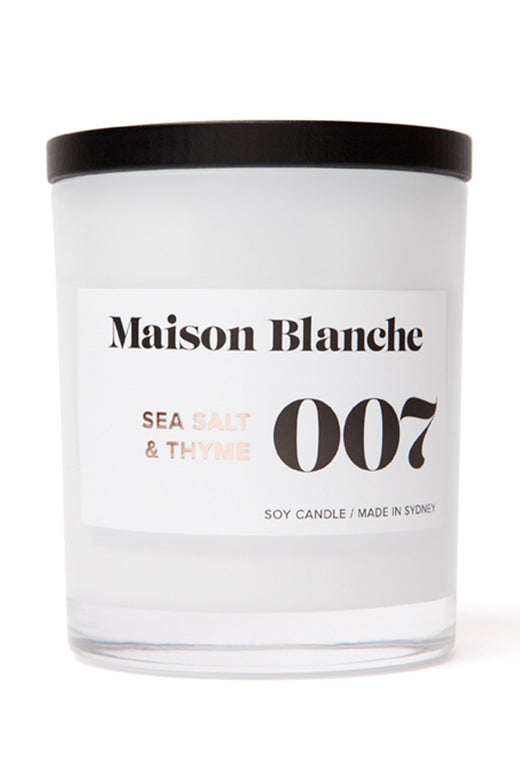 Large Sea Salt & Thyme Candle 400g