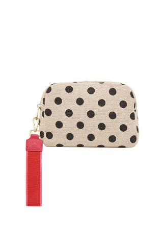 Large Cosmetics Bag Black Spot