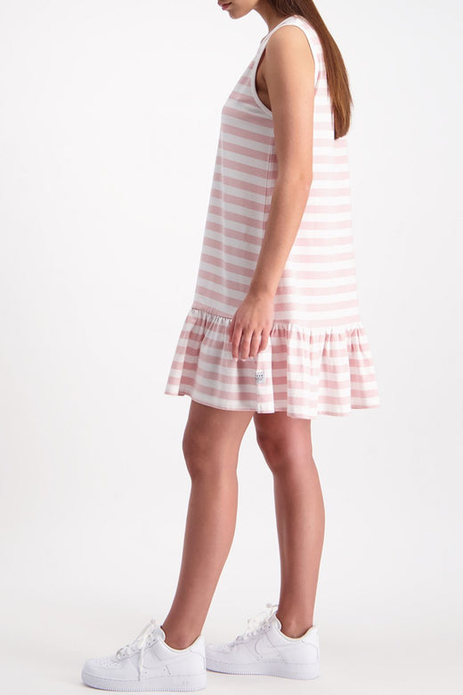 Lola Port SL Stripe Pink Dress
