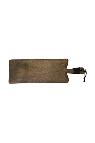 Maytime Rectangular Board w Grey Wash
