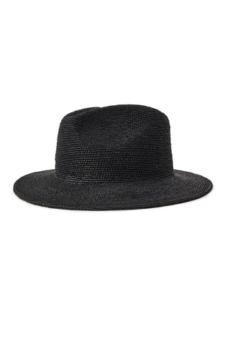 Messer III Black Jute Fedora Hat