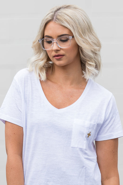 Mia Clear with Tortoise Arms Reading Glasses
