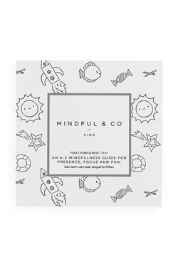 A-Z of Mindfulness Grey Colouring Book