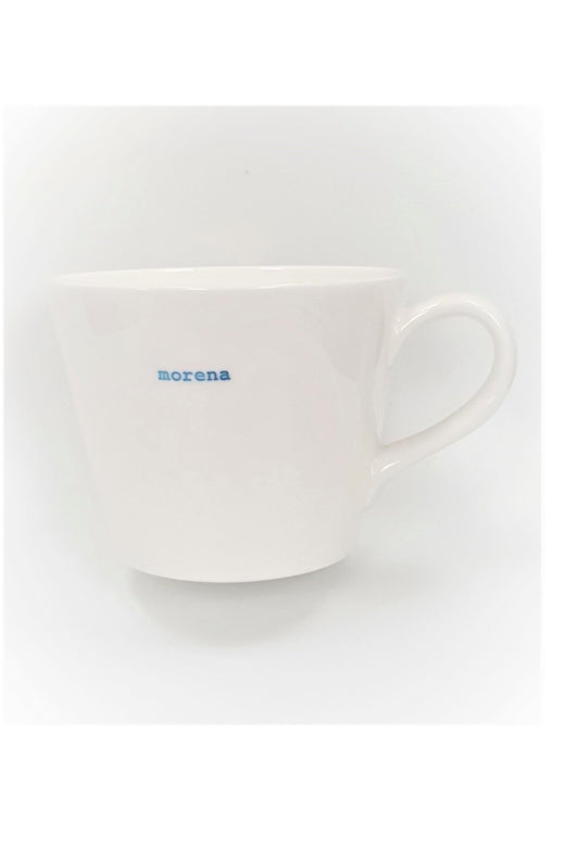 Morena White Bucket Mug 350ml