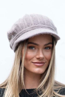 Olivia Knitted Cap Stone