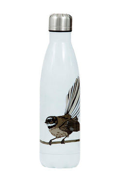 Piwakawaka White with Fantail 500ml