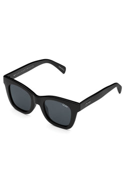 After Hours Shiny Black Smoke Sunglasses