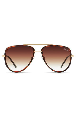 All In Tortoise Frame with Brown Fade Lens Sunglasses