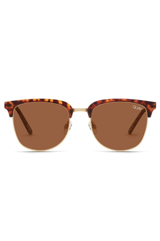 Evasive Sunglasses Matte Tort with Brown Lens