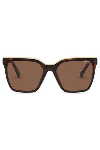 Level Up Tort Gold Brown Sunglasses