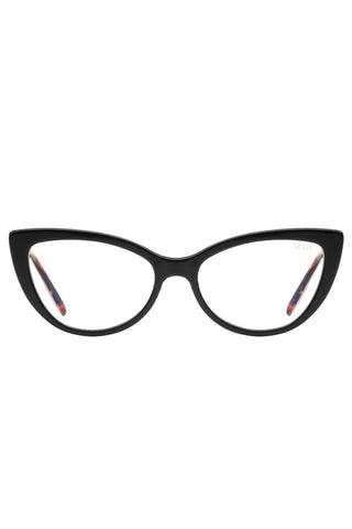 Lustworthy Black Catseye Clear Blue Light Glasses LAST AVAIL