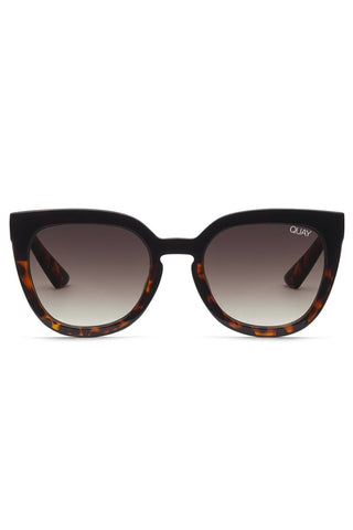 Noosa Black Tort Frame with Brown Fade Lens Sunglasses