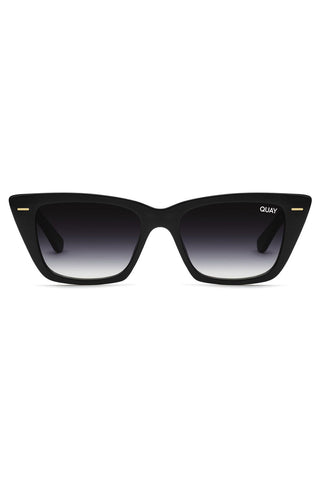 Prove It Catseye Black Frame with Fade Lens Sunglasses
