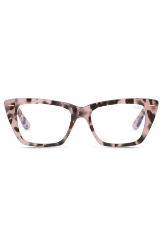 Prove It Catseye Milky Tort Clear Blue Light Glasses