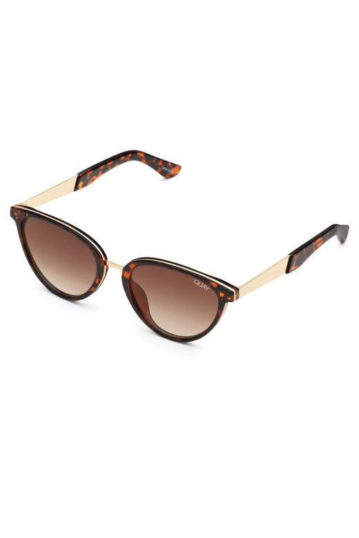 Rumours Tort Frame with Brown Lens Sunglasses