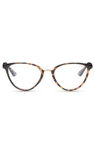 Rumours Tort Frame with Clear Blue Light Lens Glasses