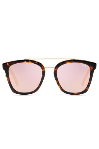 Sweet Dreams Tortoise Frame with Rose Lens Sunglasses
