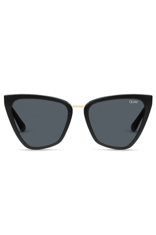 Reina Black Smoke Sunglasses