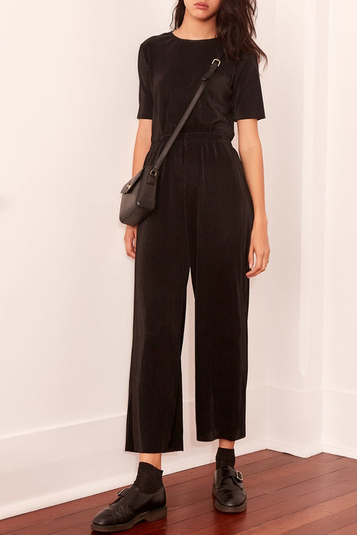 Relativity Black Wide Leg Pant