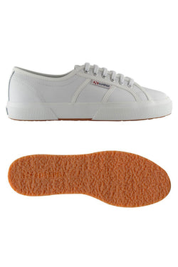 2750 Cotu Leather Sneaker White