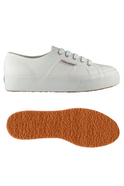 2730 Cotu Mid Wedge Sneaker White