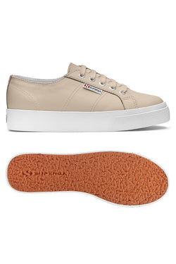 2730 Nappaleau Nude Leather Sneaker