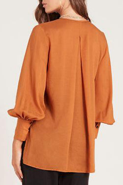 Luminescent Floaty Caramel Shirt