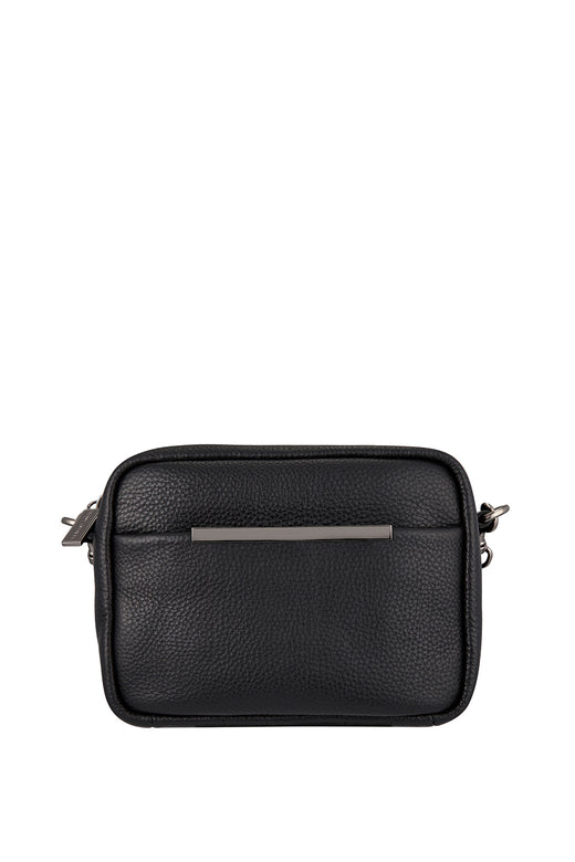 Cult Crossbody with Chain Black Bag
