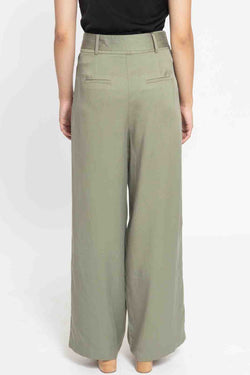 Georgie Sage Wide Leg Pants