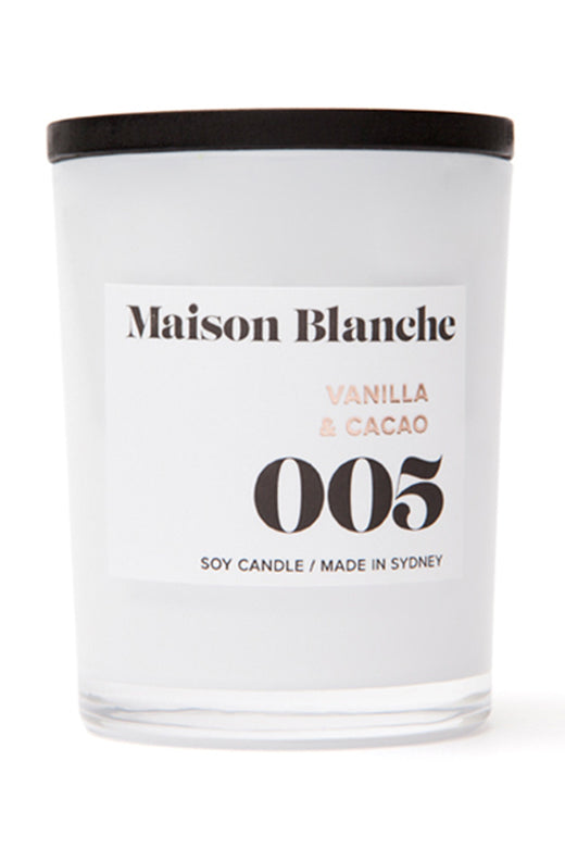 Small Vanilla & Cacao Candle 60g