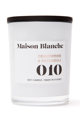 Small Cedarwood & Patchouli Candle 60g