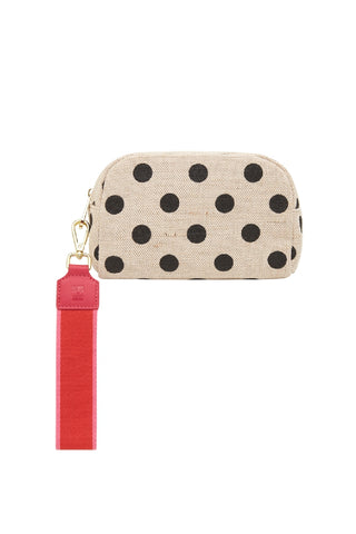 Small Cosmetics Bag Black Spot