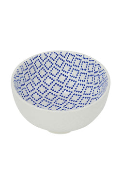 Small Bowl Diamond Blue