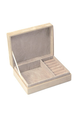 Small Jewellery Box Champagne