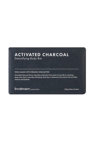 Activated Charcoal Detoxifying Body Bar