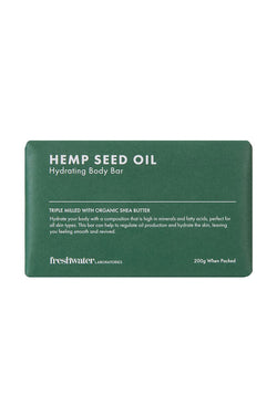 Hemp Seed Oil Hydrating Body Bar